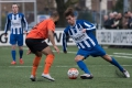 23-01-2016: Voetbal: RVVH v Katwijk: Ridderkerk (L-R)  Omar Hamdi van Katwijk en Wilco Oudenaarden van RVVH Topklasse Zaterdag Amateurs 2015/2016